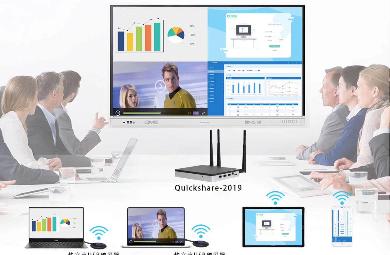 无线投屏,无线协作,企业无线会议